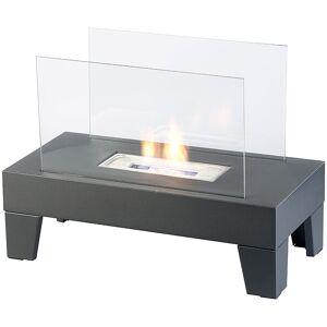 Carlo Milano Bio-Ethanol-Lounge-Dekofeuer, 60 x 45 x 30 cm, bis 60 Min. Brenndauer