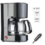 Rosenstein & Söhne LKW-Filterkaffee-Maschine, bis zu 3 Tassen, 650 ml, 24 Volt, 300 Watt