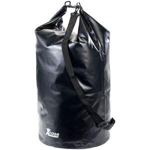 Xcase Wasserdichter Packsack 70 Liter, schwarz