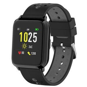 newgen medicals GPS-Sportuhr, Always-On-Display, Bluetooth, App, IP68, 1 Mon. Laufzeit