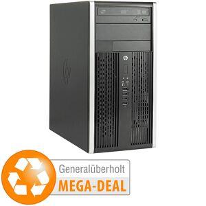 HP Elite 8300 CMT, Core i5, 8 GB, SSD + 2 HDDs (generalüberholt)