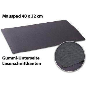 Pearl Rutschfestes Profi-Präzisions-Mauspad, Laserschnittkanten, 40 x 32 cm