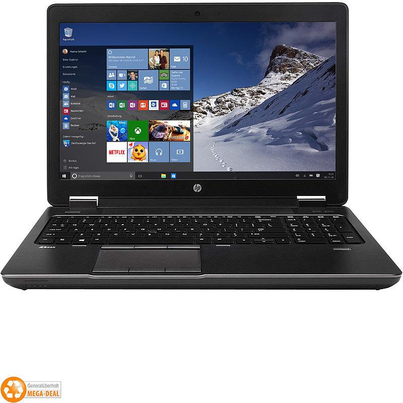 HP ZBook 15 G2, 39,6cm FHD, Core i7, 16GB, 256GB SSD (generalüberholt)