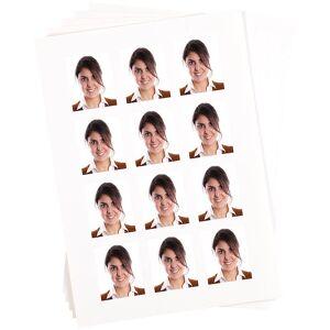 Sattleford 240 Bewerbungsfoto-Etiketten hochglänzend 45x55 mm