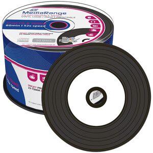 MediaRange Vinyl-Look CD-R 700MB/80Min, 52x printable, 50er Spindel