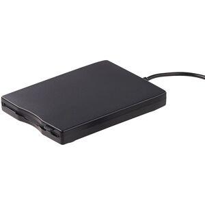 Xystec Externes USB-Disketten-Laufwerk, Slimline, Windows-10-fähig, PC & Mac