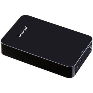 "Intenso Externe 3,5""-Festplatte Memory Center mit 6 TB, USB 3.0, schwarz"