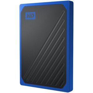 Western Digital My Passport Go externe SSD-Festplatte, 500 GB, USB 3.0, schwarz-blau