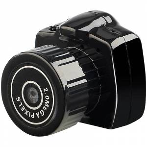 Somikon Mini-VGA-Kamera im Spiegelreflex-Design, Webcam-Funktion, Plug & Play