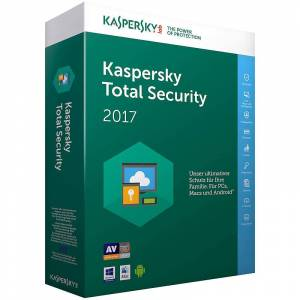 Kaspersky Total Security 2017 - für 3 Geräte (PC / Mac / Android / iOS)