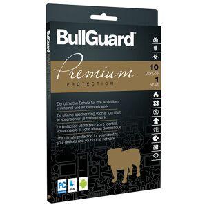 Bullguard Premium Protection, Jahreslizenz für bis zu 10 Geräte