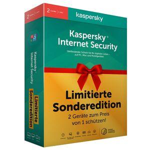 Kaspersky Internet Security - Limitierte Sonderedition für 1 Jahr auf 2 Geräten