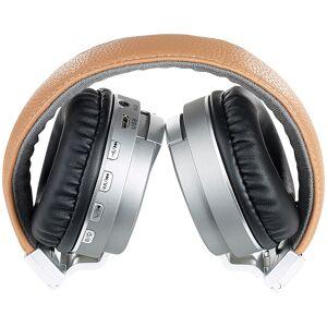 auvisio Faltbarer On-Ear-Kopfhörer mit Bluetooth, Freisprech-Funktion, MP3, FM