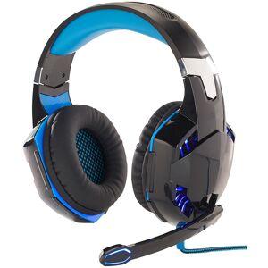 Mod-it Beleuchtetes Gaming-Headset mit Kabelfernbedienung & Mikrofon-Schalter