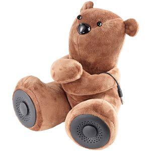 auvisio Lautsprecher-Teddybär mit Bluetooth 4.1 + EDR und Mikrofon, 10 Watt