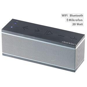 auvisio WLAN-Multiroom-Lautsprecher mit Bluetooth & Mikrofon, 20 Watt
