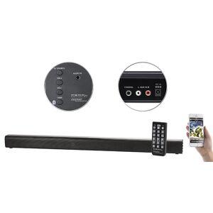 auvisio Stereo-Soundbar, Bluetooth 4.0, Koaxial, Stereo-Cinch & AUX, 60 Watt