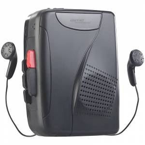 auvisio Mobil-Kassettenspieler, Digitalisierer & Voice-Recorder, Lautsprecher