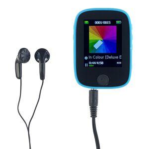 auvisio Clip-On-Multimedia-Player mit 4,6-cm-Farb-Display, für microSD-Karten
