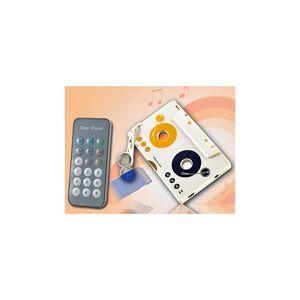 auvisio MP3-Player für Kassettenautoradio, Kassettenadapter mit Fernbedienung