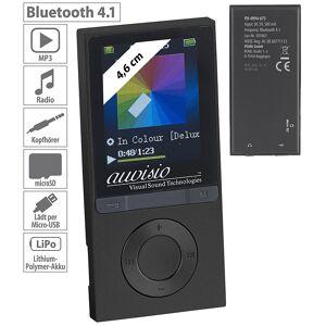 auvisio MP3-Player V3 mit UKW-Radio & E-Book-Reader, microSD, Bluetooth 2.1