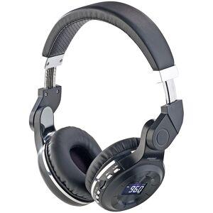 auvisio MP3-Kopfhörer mit Bluetooth 5, Freisprech-Funktion, FM-Radio & AUX-in