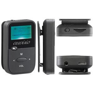 auvisio 2in1-Audio-Player & Sprachrekorder, MP3/WMA/WAV, LCD-Display, microSD