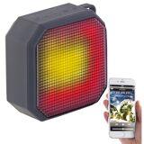 auvisio MP3-Aktiv-Lautsprecher mit Bluetooth, Freisprecher, LED-Lichtshow, 6 W