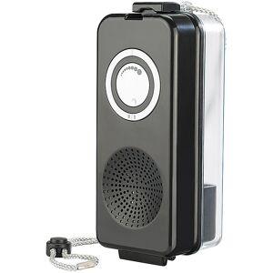 """auvisio Wasserdichte Lautsprecher-Box """"MSS-185.aqua"""" mit UKW-Radio"""