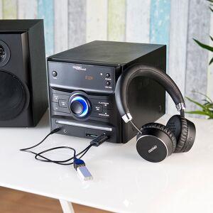 auvisio Transmitter zum Senden von Audio-Signalen mit Bluetooth 3.0 & USB