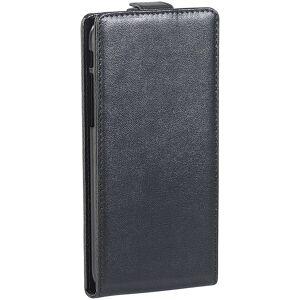 Xcase Stilvolle Klapp-Schutztasche für iPhone 4/4s, schwarz