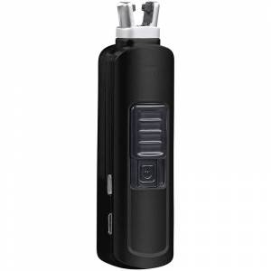 Pearl Elektronischer Mini-Lichtbogen-Stabanzünder, 60 Zündungen, schwarz