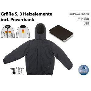 Pearl Beheizbare Outdoor-Jacke mit Powerbank (8.000 mAh), Grösse S