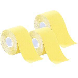 newgen medicals Kinesiologie-Tape aus Baumwollgewebe, 3er-Set, gelb