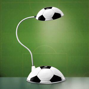 Originelle Tischlampe Fussball mit USB-Stromversorgung
