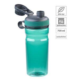 Speeron BPA-freie Sport-Trinkflasche, 700 ml, auslaufsicher, grün
