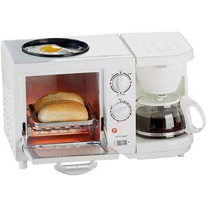Rosenstein & Söhne Kompakter 3in1-Frühstücksofen, 1.150 Watt