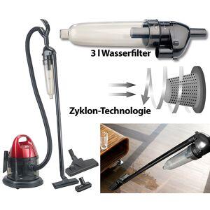 Sichler Haushaltsgeräte Nass- & Trockensauger BLS-80 mit 3-Liter-Wasserfilter, 800 Watt