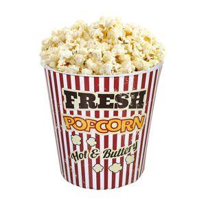 Vintage Kino-Popcorn Becher, 3er-Set