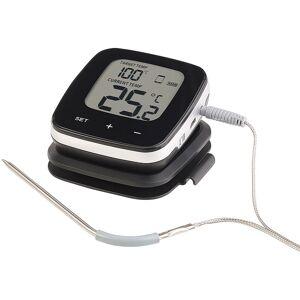 Rosenstein & Söhne WLAN-Grill-Thermometer mit LCD-Display und App-Kontrolle, bis 249 °C