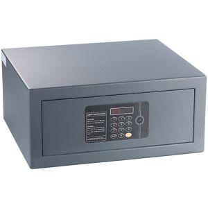 Xcase Notebook-Stahlsafe mit digitalem Code-Schloss, LED-Display, 22 l
