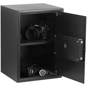 Xcase Grosser-Stahlsafe mit digitalem Code-Schloss und LCD-Display, 50 Liter