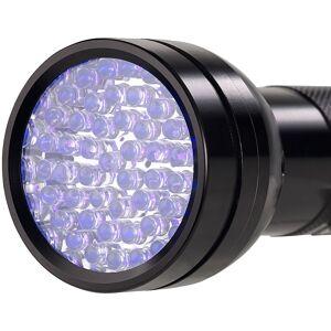 Lunartec 2in1-UV-Taschenlampe und Geldscheinprüfer, 51 LEDs und Batteriebetrieb