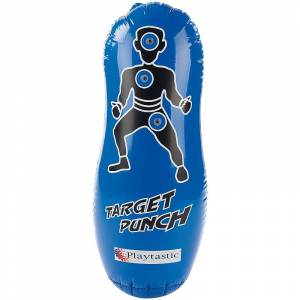 Playtastic Aufblasbarer Anti-Frust-Punching-Ball 100cm mit Soundeffekt