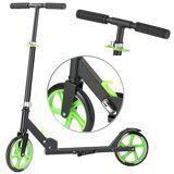 Pearl Klappbarer City-Roller, XXL-Räder, Ständer, Trageriemen, bis 100 kg