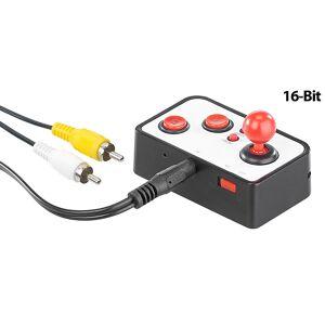 MGT Mobile Games Technology Retro-Videospiel-Controller mit 240 16-Bit-Games und TV-Anschluss