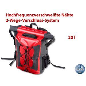 Semptec Urban Survival Technology Wasserdichter Trekking-Rucksack aus LKW-Plane, 20 Liter, IPX6