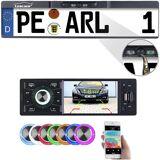 Creasono MP3-Autoradio mit TFT-Farbdisplay und Funk-Rückfahr-Kamera