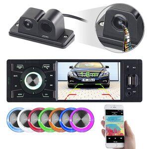 Creasono MP3-Autoradio mit TFT-Farbdisplay und Farb-Rückfahrkamera