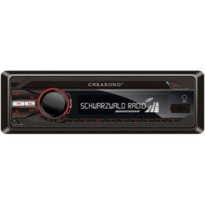Creasono MP3-RDS-Autoradio CAS-3300.bt mit USB, SD, BT & Freisprecher